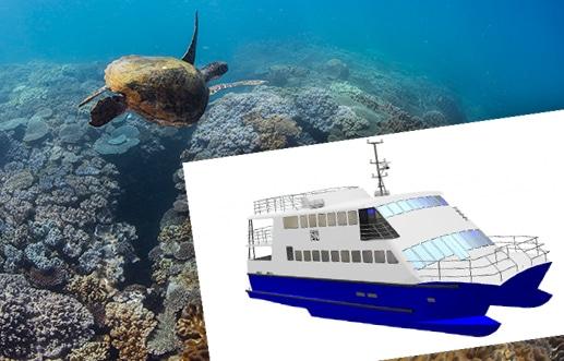Dive Ningaloo Liveaboard - Turtle - Muiron islands